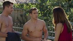 Mark Brennan, Aaron Brennan, Elly Conway in Neighbours Episode 7413