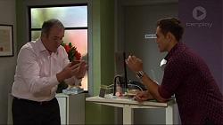 Karl Kennedy, Aaron Brennan in Neighbours Episode 7413