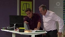 Aaron Brennan, Karl Kennedy in Neighbours Episode 7413
