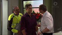 Karl Kennedy, Aaron Brennan, Toadie Rebecchi in Neighbours Episode 7413