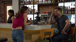 Elly Conway, Mark Brennan in Neighbours Episode 7413