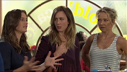 Amy Williams, Sonya Mitchell, Steph Scully in Neighbours Episode 7414