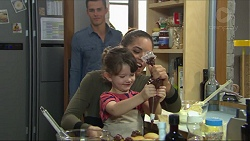 Jack Callaghan, Paige Novak, Nell Rebecchi in Neighbours Episode 7414