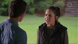 Jack Callaghan, Paige Novak in Neighbours Episode 7414