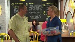Toadie Rebecchi, Lauren Turner in Neighbours Episode 7414