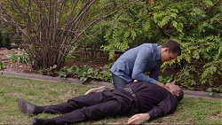 Jack Callaghan, Father Vincent Guidotti in Neighbours Episode 7414