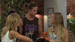 Madison Robinson, Tyler Brennan, Courtney Grixti in Neighbours Episode 7415