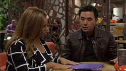 Terese Willis, John Wong in Neighbours Episode 7415
