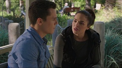 Jack Callaghan, Paige Novak in Neighbours Episode 7415