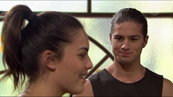 Paige Novak, Tyler Brennan in Neighbours Episode 7415