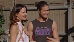 Elly Conway, Tyler Brennan in Neighbours Episode 7416
