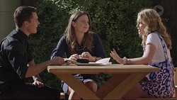 Jack Callaghan, Amy Williams, Xanthe Canning in Neighbours Episode 7416