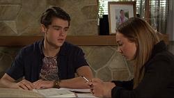 Ben Kirk, Piper Willis in Neighbours Episode 7416