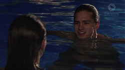Paige Smith, Tyler Brennan in Neighbours Episode 7416