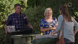 Gary Canning, Sheila Canning, Amy Williams in Neighbours Episode 7417