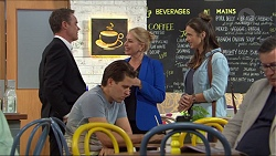 Paul Robinson, Lucy Robinson, Amy Williams in Neighbours Episode 7417