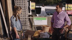 Amy Williams, Pete Howard in Neighbours Episode 7417