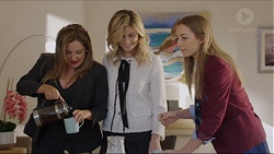 Terese Willis, Madison Robinson, Piper Willis in Neighbours Episode 7418