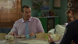 Toadie Rebecchi, Charlie Hoyland, Mark Brennan in Neighbours Episode 7418