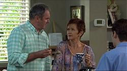 Karl Kennedy, Susan Kennedy, Ben Kirk in Neighbours Episode 7418