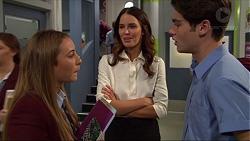 Piper Willis, Elly Conway, Ben Kirk in Neighbours Episode 7418