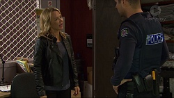 Steph Scully, Mark Brennan in Neighbours Episode 7418