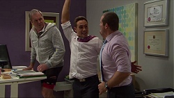Karl Kennedy, Aaron Brennan, Toadie Rebecchi in Neighbours Episode 7419