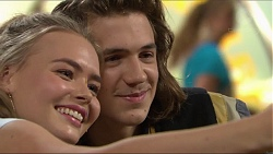 Xanthe Canning, Cooper Knights in Neighbours Episode 7419