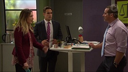 Sonya Mitchell, Aaron Brennan, Toadie Rebecchi in Neighbours Episode 7419