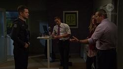 Mark Brennan, Aaron Brennan, Sonya Rebecchi, Toadie Rebecchi in Neighbours Episode 7420