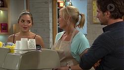 Paige Smith, Lauren Turner, Brad Willis in Neighbours Episode 7420