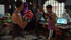 Jack Callaghan, Dustin Oliver in Neighbours Episode 7420