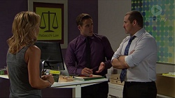 Steph Scully, Aaron Brennan, Toadie Rebecchi in Neighbours Episode 7420