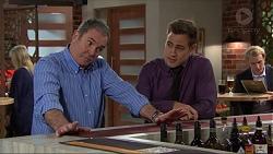 Karl Kennedy, Aaron Brennan in Neighbours Episode 7420