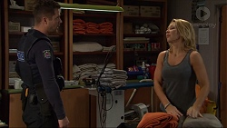 Mark Brennan, Steph Scully in Neighbours Episode 7420