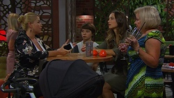 Lucy Robinson, Jimmy Williams, Amy Williams, Sheila Canning in Neighbours Episode 7421