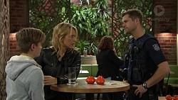 Charlie Hoyland, Steph Scully, Mark Brennan in Neighbours Episode 7422