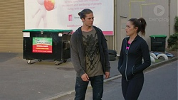 Tyler Brennan, Paige Smith in Neighbours Episode 7422