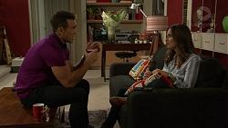 Aaron Brennan, Amy Williams in Neighbours Episode 7424