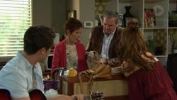 Ben Kirk, Susan Kennedy, Karl Kennedy, Elly Conway in Neighbours Episode 7424