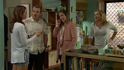 Elly Conway, Toadie Rebecchi, Sonya Mitchell, Steph Scully in Neighbours Episode 7424