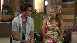 Ben Kirk, Xanthe Canning in Neighbours Episode 7425