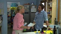 Lauren Turner, Brad Willis in Neighbours Episode 7426