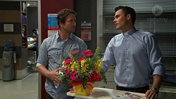 Brad Willis, Jack Callaghan in Neighbours Episode 7426