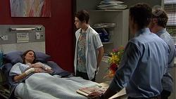 Ben Kirk, Elly Conway, Brad Willis, Jack Callahan in Neighbours Episode 7426