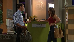 Jack Callaghan, Paige Novak in Neighbours Episode 7426