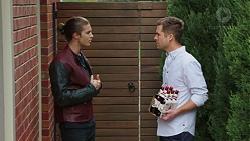 Tyler Brennan, Mark Brennan in Neighbours Episode 7426