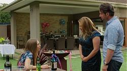 Piper Willis, Terese Willis, Brad Willis in Neighbours Episode 7426