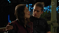 Paige Smith, Tyler Brennan in Neighbours Episode 7428