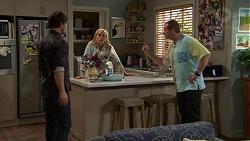 Brad Willis, Lauren Turner, Toadie Rebecchi in Neighbours Episode 7428